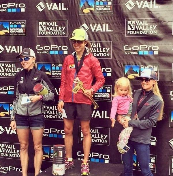 Women's 2015 Vail Pass Half podium
