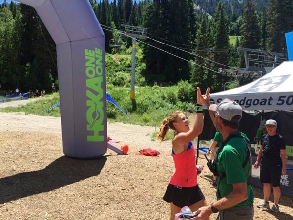 Hillary Allen - 2015 Speedgoat 50k champion
