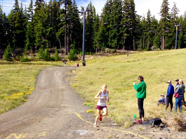 Kasie Enman - 2015 US Mountain Running Championships second place