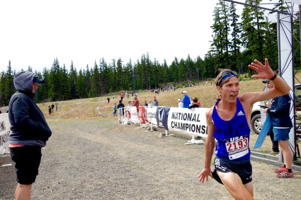 Andy Wacker - 2015 US Mountain Running Championships second place