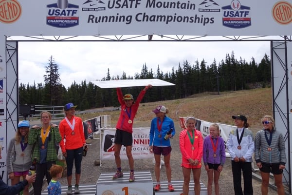 Morgan Arritola - 2015 US Mountain Running Champion