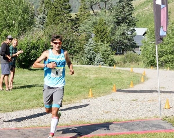 Sage Canaday - 2015 Kendall Mountain Run champion