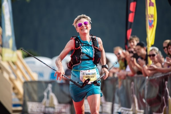 Andrea Huser - 2015 Eiger Ultra Trail second place