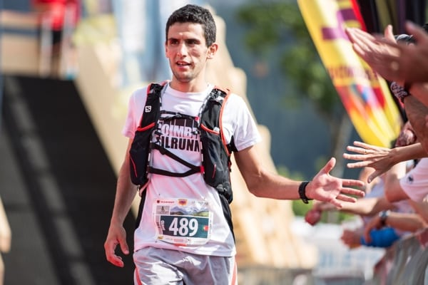 David Quelhas - 2015 Eiger Ultra Trail third place