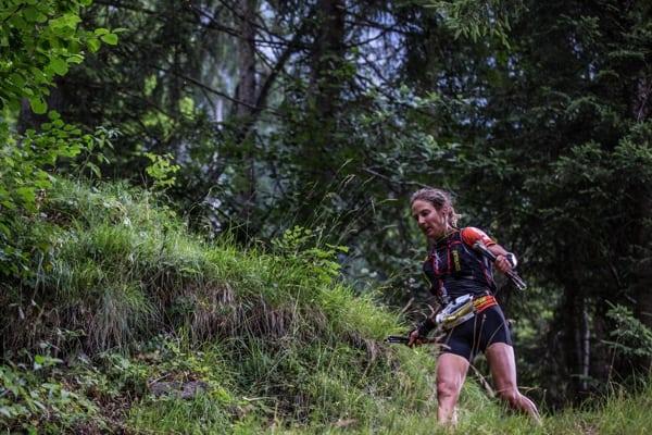 Caroline Chaverot - 2015 Eiger Ultra Tral champion