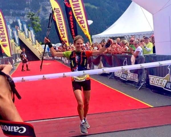 Caroline Chaverot - 2015 Eiger Ultra Trail champion