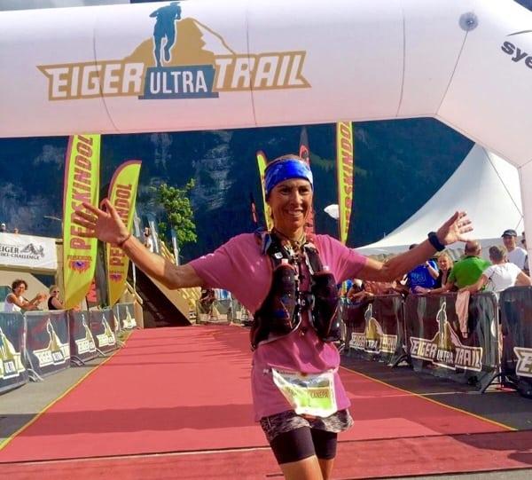 Francesca Canepa - 2015 Eiger Ultra Trail third place