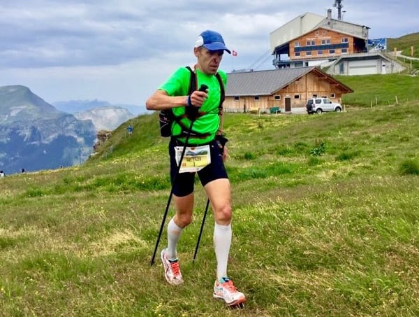 Urs Jenzer - 2015 Eiger Ultra Trail champion