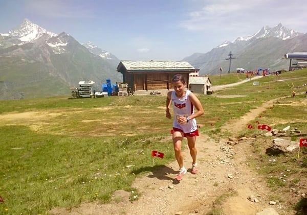 Stevie Kremer - 2015 World Mountain Running Association's Long Distance Championships 4th place