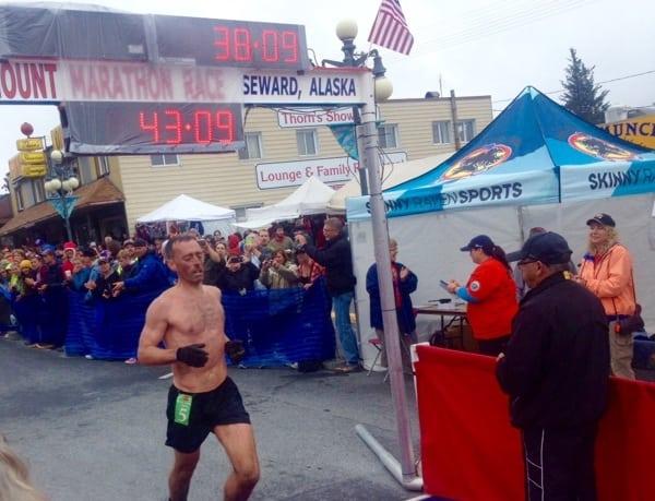 Jim Shine - 2015 Mount Marathon Race third place