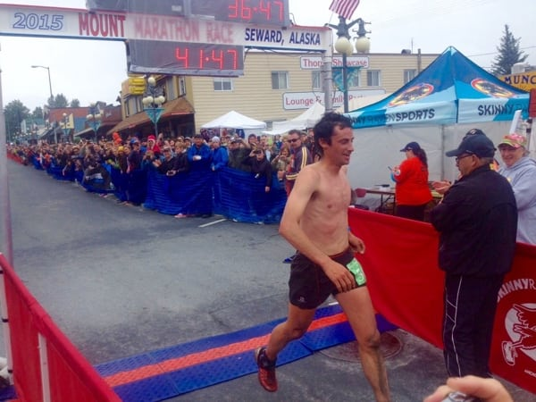 Kilian Jornet - 2015 Mount Marathon Race champion