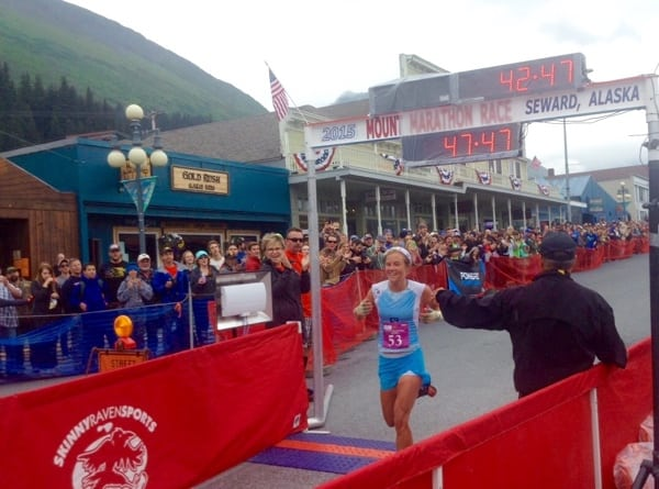 Emelie Forsberg - 2015 Mount Marathon champion