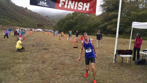 Andy Wacker - 2015 USATF 50k National Champion