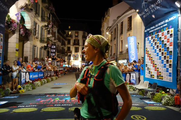Denise Zimmermann - 2015 Ultra-Trail du Mont Blanc third place
