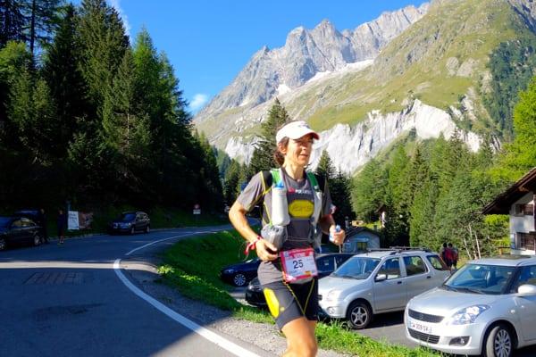 Uxue Fraile - 2015 Ultra-Trail du Mont-Blanc second place