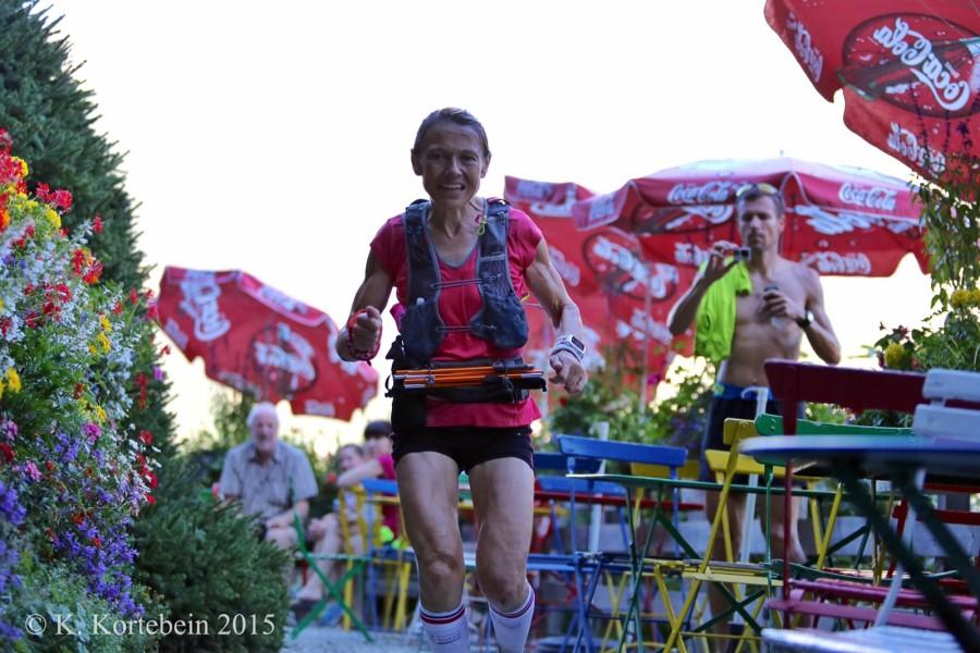 Nathalie Mauclair - 2015 Ultra-Trail du Mont-Blanc Champion