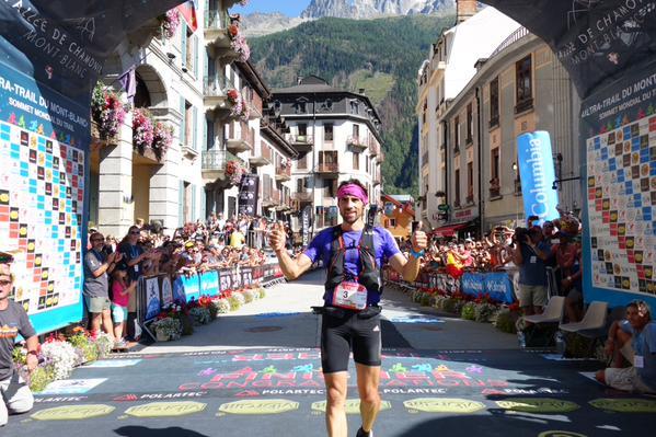 Luis Alberto Hernando - 2015 Ultra-Trail du Mont-Blanc second place