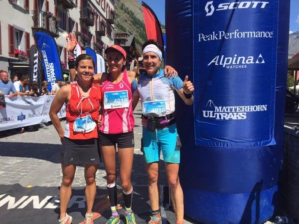 2015 Matterhorn Ultraks women's podium