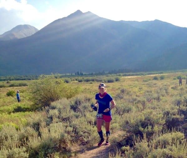 Danielle Hilson - 2015 Leadville Trail 100 Mile third place