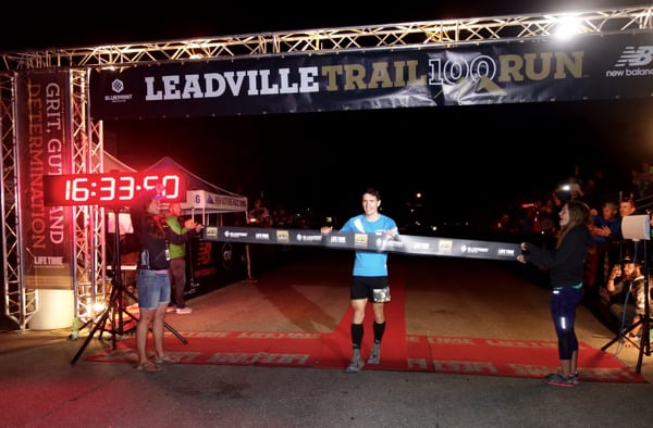 Ian Sharman - 2015 Leadville Trail 100 Mile Champion