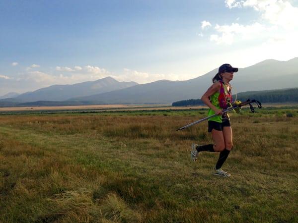 Kara Henry - 2015 Leadville Trail 100 Mile Second Place