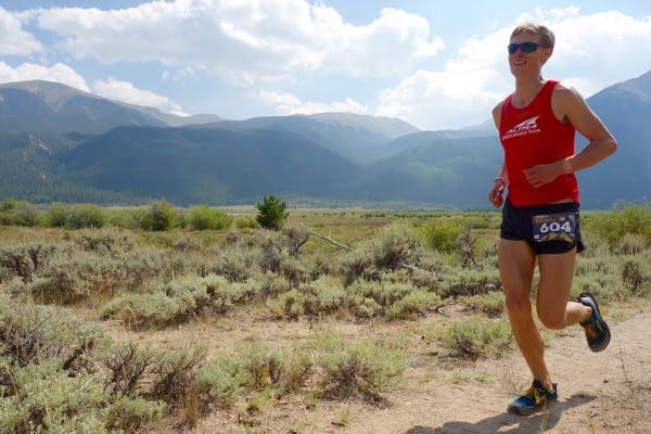 Kyle Pietari - 2015 Leadville Trail 100 second place