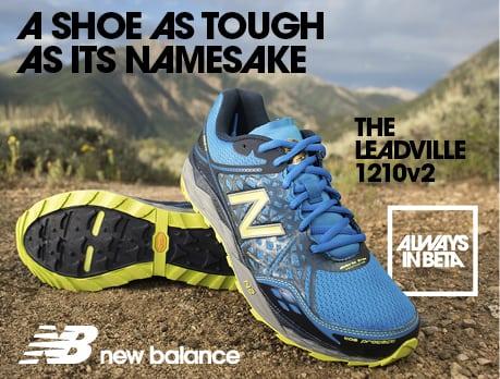 2015 Leadville Trail 100 Mile New Balance ad