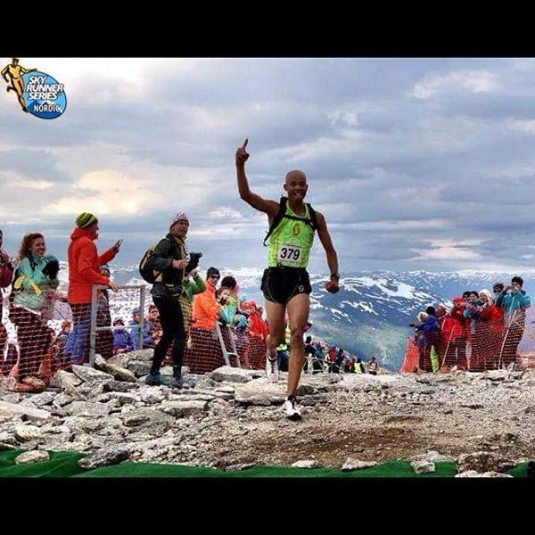 Joe Gray, 2015 La Sportiva Skaala Uphill champion