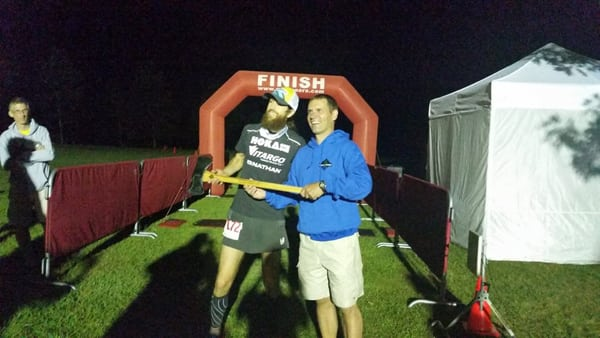 Mike Wardian, 2015 Eastern States 100 Mile champion