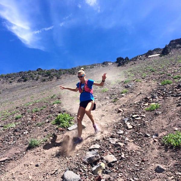 Stephanie Howe downhill running