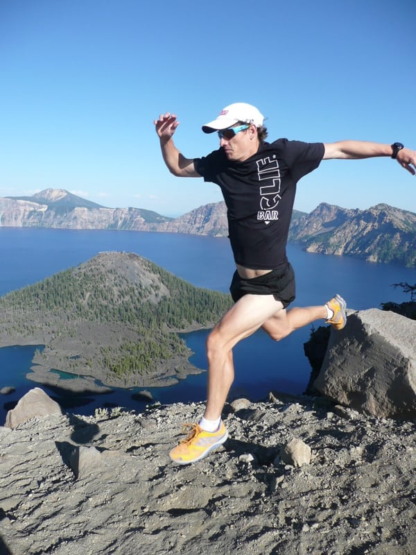 Ian Sharman downhill running