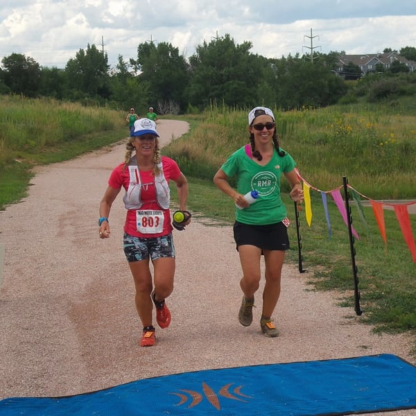Kerrie Bruxvort and Silke Koester - 2015 Pikes Peak Ultra 50 Mile Champions