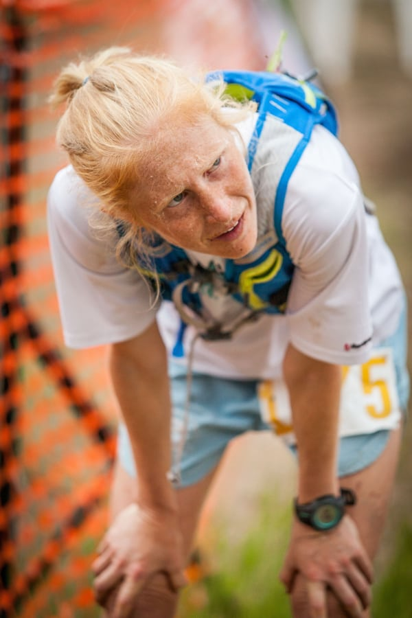 Sarah Woerner - 2015 Tushar Trail Run 93k