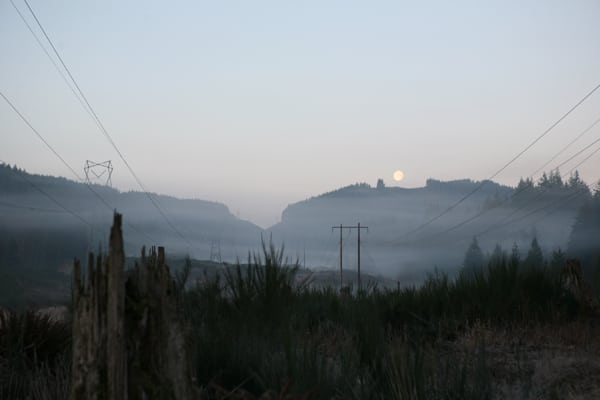 Hillbilly Half Marathon scenery - La Sportiva Mountain Cup