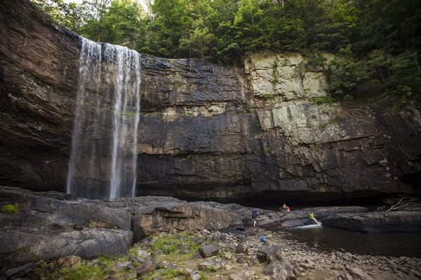 Trail Running in Chattanooga - Lula Falls
