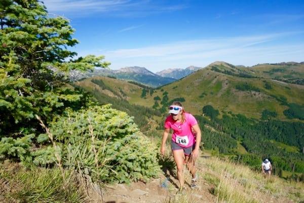 Marta Larsen - 2015 Jupiter Peak Steeplechase second place