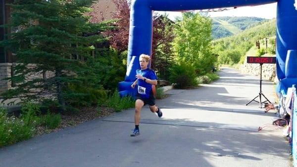 Tate Pollmann - 2015 Jupiter Peak Steeplechase champion