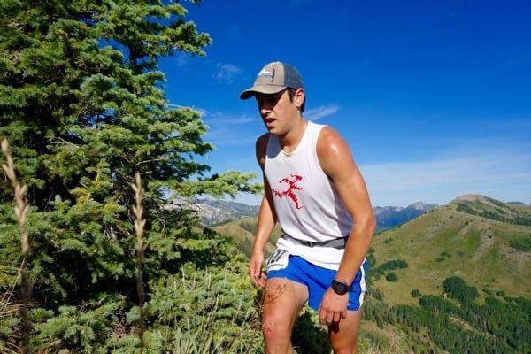 Noah Brautigam - 2015 Jupiter Peak Steeplechase third place