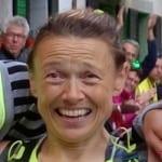 Nathalie Mauclair 2014 TNF UTMB - third
