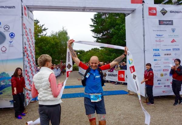 Gediminas Grinius - 2015 Ultra-Trail Mount Fuji champion