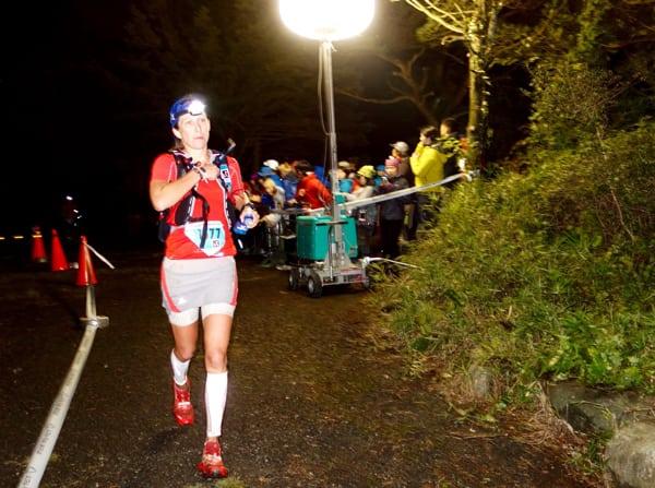 Aliza Lapierre - 2015 Ultra Trail Mount Fuji second place