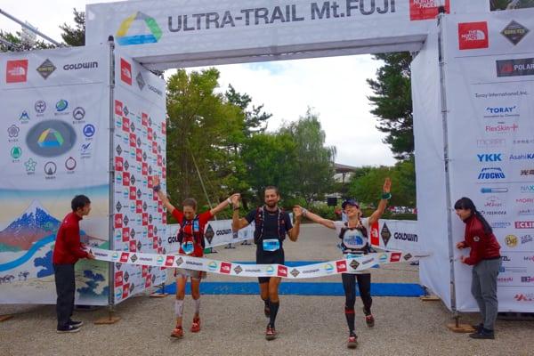 Aliza Lapierre and Fernanda Maciel - 2015 Ultra-Trail Mount Fuji 2nd place