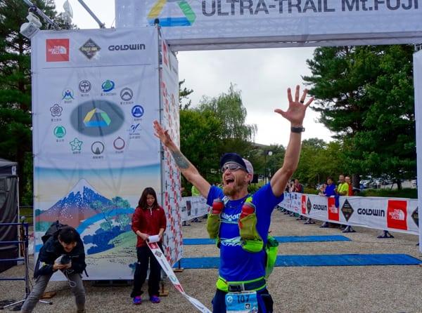 Jeff Browning - 2015 Ultra-Trail Mount Fuji third place