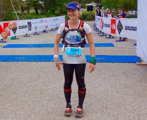 Fernanda Maciel - 2015 Ultra-Trail Mount Fuji second place