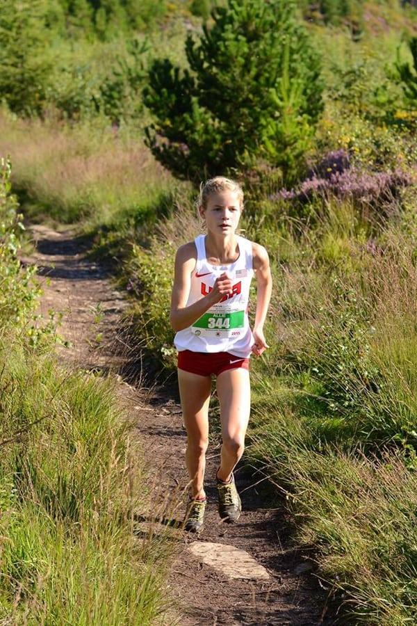 Allie Ostrander - 2015 Junior World Mountain Running Champion