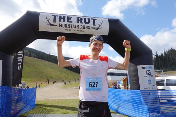Remi Bonnet - 2015 The Rut 25k champion