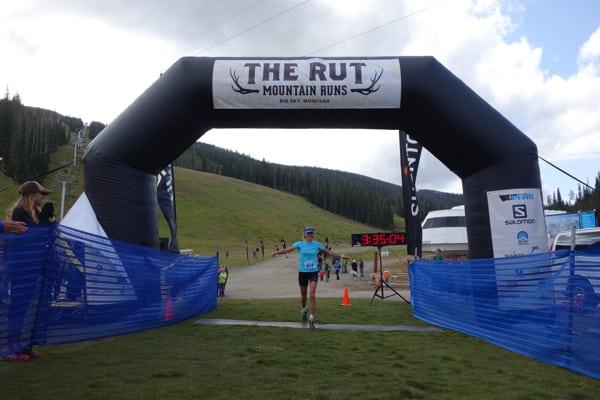 Megan Kimmel - 2015 The Rut 25k champion