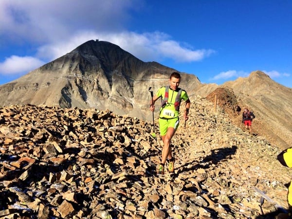 2015 The Rut 50k - Franco Colle - first