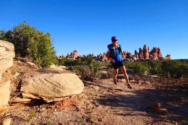 Meghan Hicks Fastpacking The Maze 2014