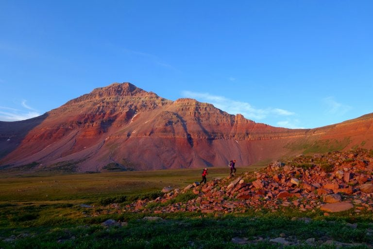 Meghan Hicks and Anna Frost - Uinta Mountains 2014 Fastpacking